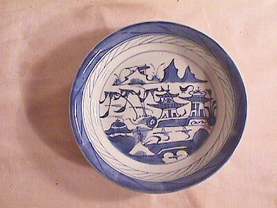CHINESE EXPORT  CANTON BOWL,  18th  CENTURY