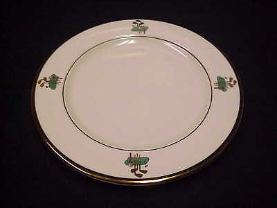"Homer Laughlin China 8"" Plate Golf Pattern Seville"