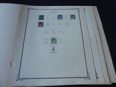 French Offices in China 1894-1941 Mint/Used Stamp Collection on Scott Speciality