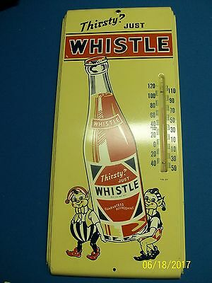Whistle Thermometer Sign (NICE)