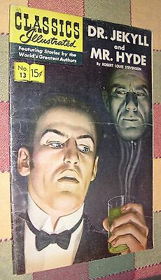 Classics Illustrated No 13 Dr. Jekyll and Mr. Hyde by  Robert Louis Stevenson