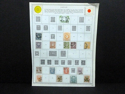 Stamp Japanese Lot Of 90 Used & 4 Mh Stamps Valuable No Reserve 5868