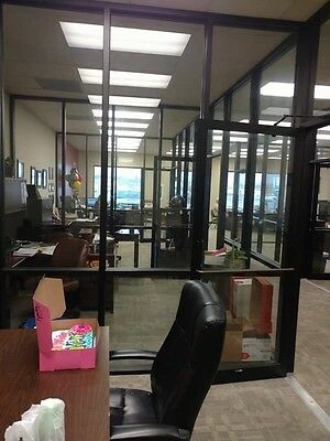 Office Partitions - High End Aluminum & Glass (Made by Coral Industries)