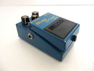BOSS BD-2 Blues Driver Phat Mod Overdrive Guitar Effects Pedal From Japan *0322