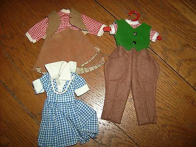 """Vintage doll clothes for Betsy McCall  8"""" 1950's outfts"""