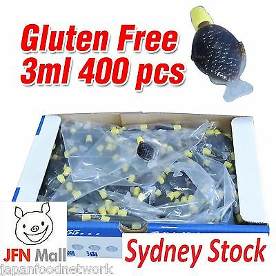 Gluten Free Fish Shape Mini Soy Sauce 3ml / 400pc