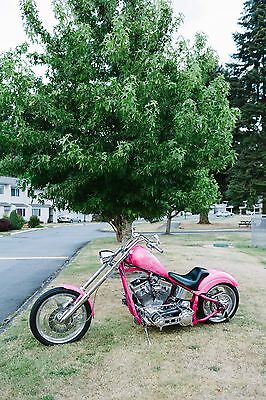 Custom Built Motorcycles: Chopper 2007 Custom Pro Built Chopper