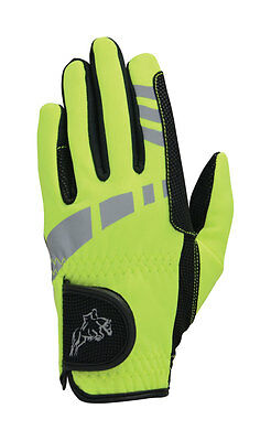 Hy5 Extreme Reflective Softshell Gloves-Adult/Child Multi Color & Size PR-13474