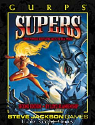 Steve Jackson GURPS Supers Supers (2nd Edition, 3rd Printing) SC EX