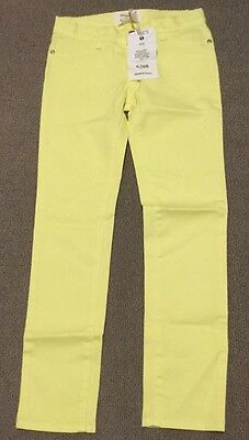 brand new country road kids girls pants jeans Yellow size 8