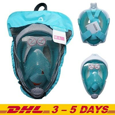 DECATHLON TRIBORD SUBEA Easybreath Snorkeling Masks , ATOLL Size S/M or M/L