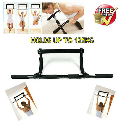 Hot Gym Chin Up Portable Bar Home Door Pull Up Doorway Exercise Workout Fitness