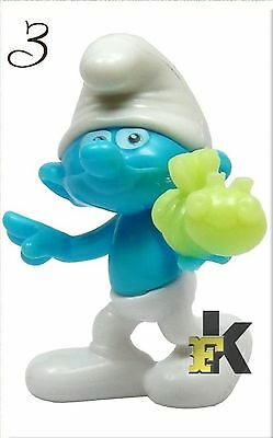 2017 KINDER SURPRISE Smurfs The Lost Village # CLUMSY SMURF