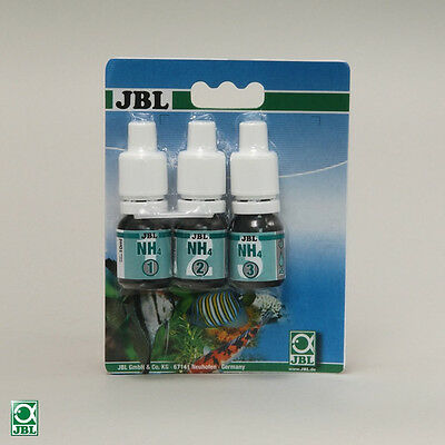 JBL NH4 TEST / ammoniak-test Pack de recharge, NEUF
