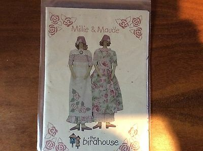 "DOLL PATTERN   ""MILLIE & MAUDE""  by   THE BIRDHOUSE"