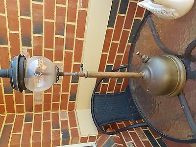antique pressure lamp