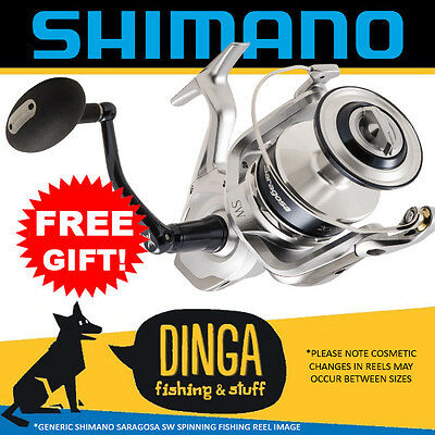 Shimano Saragosa SW | Spinning Fishing Reels With FREE Gift!
