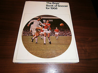 The Boys Book Of Soccer For 1968(First Published 1967)Evans Brothers Ltd