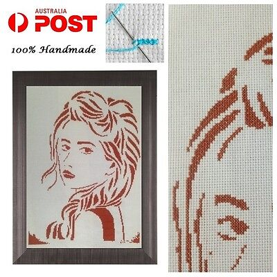 Completed Finished Cross Stitch 100% Handmade Home Wall Decoration Women Girl