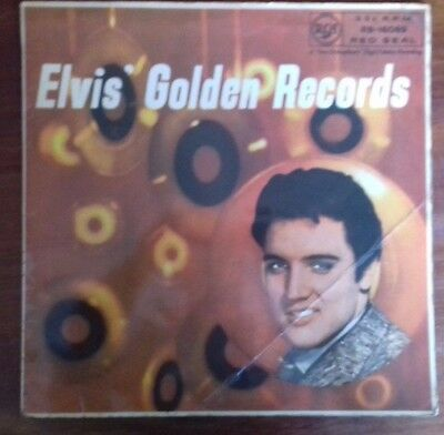 "Elvis Presley "" Golden Records "" Red Seal Original 1958 Lp Good Vinyl Condition"