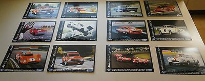 12 x DIFFERENT BOB JANE COLLECTOR MOTOR RACING CARDS