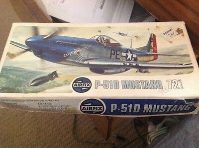Airfix Vintage P51 Mustang 1.72