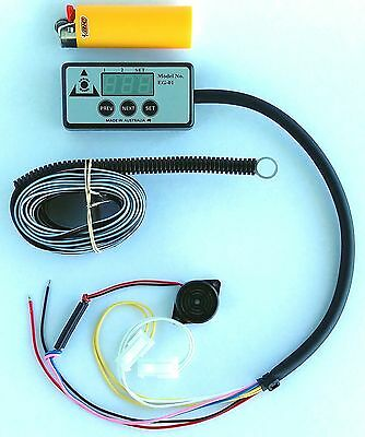 Landcruiser compatible OVERHEATING ALARM suits 70 75 78 80 100 series WITH GAUGE