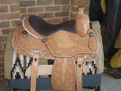 western Cutting Saddle model number 740416