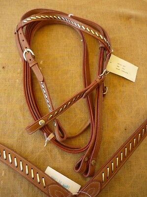 Bridle and Breastplate Set 3011