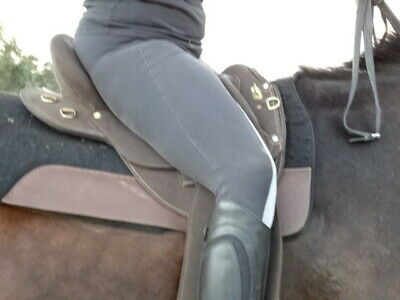 synthetic changeable gullet fender stock saddle  model Polocrosse DELUXE