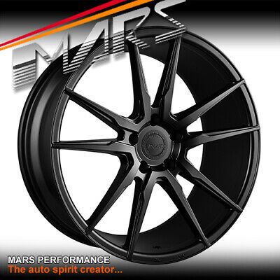 MARS MP-RH Black 22 Inch Alloy Wheels Rims 5x120 for BMW X5 X6 Range Land Rover