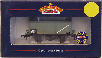 Bachmann Branchline OO 16 Ton Mineral Wagon, BR Grey, Without Top Flat Doors