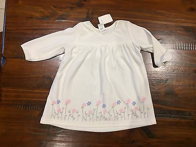 Girls Dress - Size 1 - White / Cream - Brand New With Tags