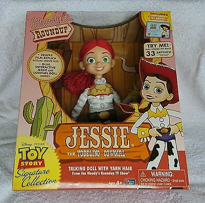 Thinkway TOY STORY Deluxe Movie Replica Doll JESSIE Signature Collection NEW!