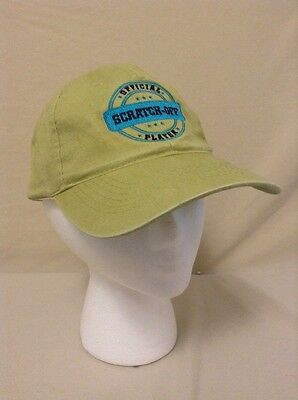 Hoosier Lottery Hat Cap Official Scratch Off Player Adjustable Baseball Style