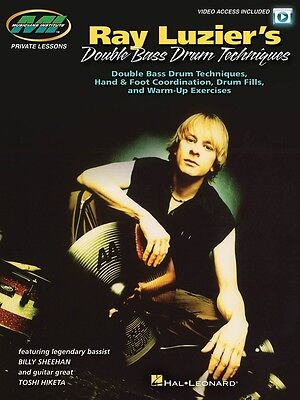 Ray Luzier's Double Bass Drum Techniques - Drum Music Book with Video Access