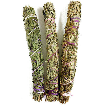 Smudge Stick with LAVENDER Incense Spiritual House Cleansing Sage Smudge