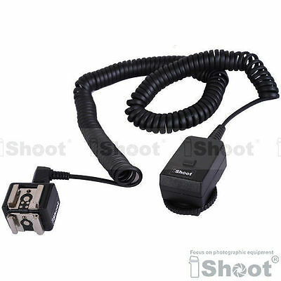 Flash Trigger—2-Hot Shoe Mount Adapter+Transmitter f Canon 600EX/580EX II/430EX