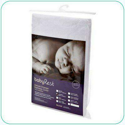 BabyRest Deluxe Change Mattress With Towelling Cover Boori (Beige) - 800 x 480 x