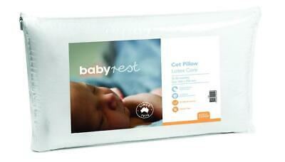 BabyRest Latex Cot Pillow with Latex Core