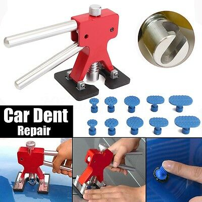 PDR Dent Lifter Puller Removal Blue Tabs Car Body Tool Paintless Hail Repair UK