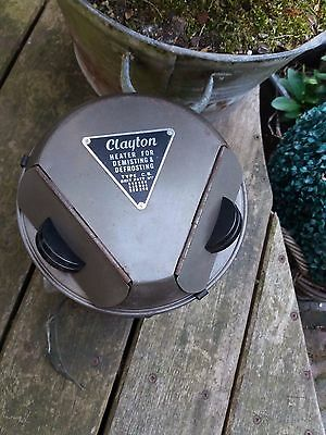 land rover series 1 2  2a  early CLAYTON round heater NOS