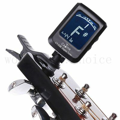 Clip-on Electronic Digital Guitar Tuner Acoustic Bass Violin Ukulele Chromatic