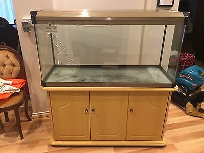 Aquarium Fish Tank 4ft. with Deluxe Curved Glass