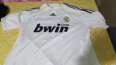 T-Shirt Calcio Football Real Madrid Adidas Taglia L Numero 10