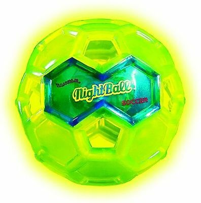 Soccer Maxi Night Ball Fußball Leuchtball Wasserball 16,5 x 16,5 x 16,5cm Tangle