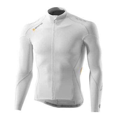 Skins C400 Compression Long Sleeve Cycling Top Jersey