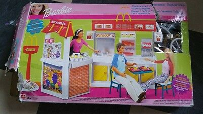Barbie McDonald's Restaurant Playset - Boxed - DERBY