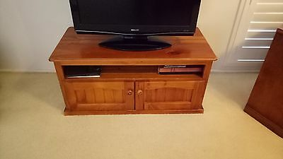 Solid Timber coffee table TV unit