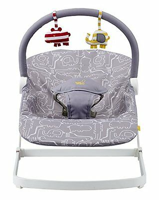 Bababing! Float Baby Bouncer - Grey - Baby Bouncing Chair